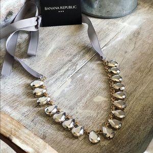 NWT Banana Republic Factory Ribbon Necklace